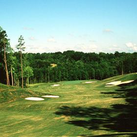Hole No. 1 at Skybrook Golf Club