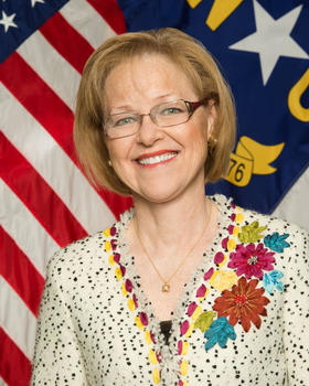 N.C. Secretary of Health and Human Services Aldona Wos