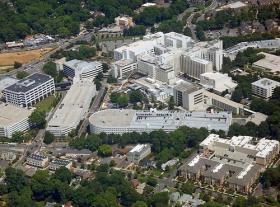 Carolinas Medical Center, the flagship hospital in Carolinas HealthCare System.