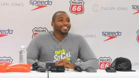 Cullen Jones says he hopes his swim meet will grow to allow 1,000 swimmers to participate next year.