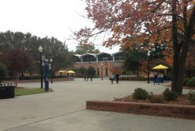 JCSU campus off Beatties Ford Road in Charlotte