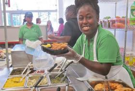 Second Helping's mission is to employ women with criminal records to help them achieve self-sufficiency.