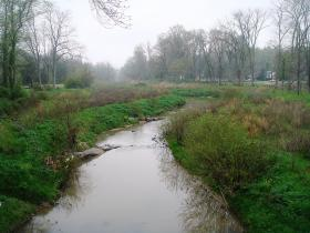 Grants from the Clean Water Management Trust Fund helped fund cleaning of the polluted Little Sugar Creek in Charlotte.