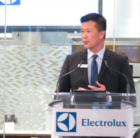 Jack Truong, CEO of Electrolux Major Appliances North America, announced the company will add 810 jobs by 2017.