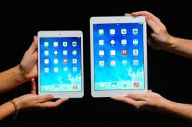 Apple's iPad Mini 2 and iPad Air