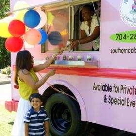 Pink Lady Cupcake truck, Southern Cake Queen