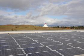 Solar panels, Google Headquarters