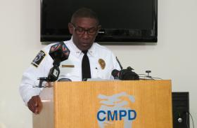 CMPD Chief Rodney Monroe says he believes the 2013 end of year crime statistics represented good news for the city.