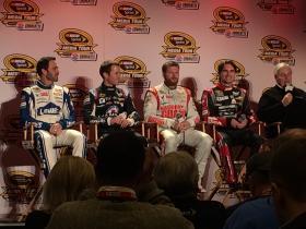 Jimmie Johnson, Kasey Kahne, Dale Earnhardt Jr., and Jeff Gordon discuss the upcoming season.