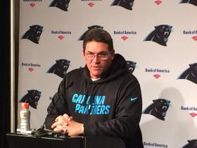 Coach Ron Rivera during a press conference on Monday, Jan. 6.