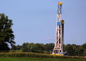 A shale gas well in Pennsylvania.