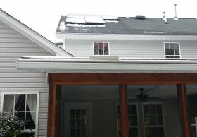 Vivian Lord's solar panels take up a small section of the roof, abate 75 percent of her household's utility bill.