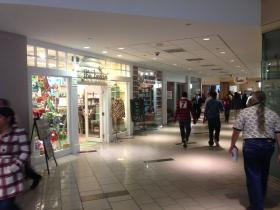 The Beehive is one of the few retail stores in the mostly-food Overstreet Mall in uptown Charlotte.