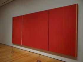 Vir Heroicus Sublimis (Barnett Newman) - Museum of Modern Art - Manhattan NY