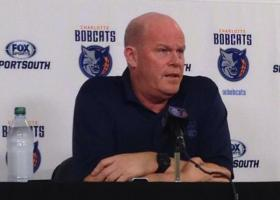 Coach Steve Clifford at the Bobcats' postseason press conference on Wednesday.