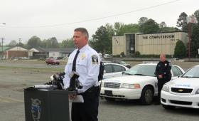 CMPD Deputy Chief Doug Gallant says there was a 4.3 percent decrease in offenses between January and March of 2013 compared to 2013.