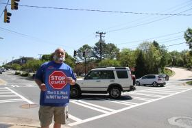 Leroy Moyer, president of the Charlotte American Postal Worker's Union, organized the event.