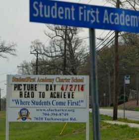 StudentFirst charter school will close next week.  CMS will have to accommodate close to 260 of their students without reimbursement.