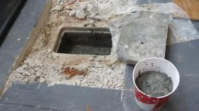 Much of what was inside the time capsule was damaged by water.