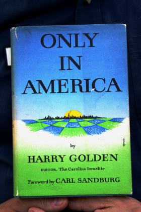 An early edition of Only In America held by Tom Hanchett