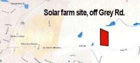 The site is on college owned land off Grey Road.