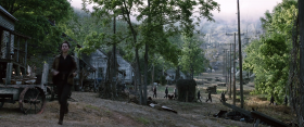 "Henry River Mill Village was used as the set of District 12 in ""The Hunger Games."""