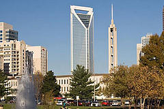 Duke Energy building in Charlotte