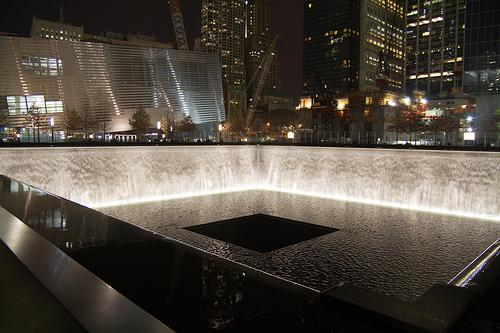 The World Trade Center Memorial in New York City