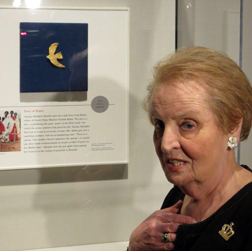 Former U.S. Secretary of State Madeleine Albright. Photo: Kalie McMonagle