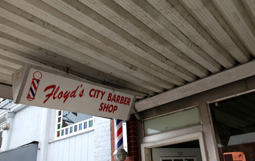 Floyd's Barber Shop was called City Barber Shop until 1989 when owner Russell Hiatt decided to change the name to attract Andy Griffith Show tourists.