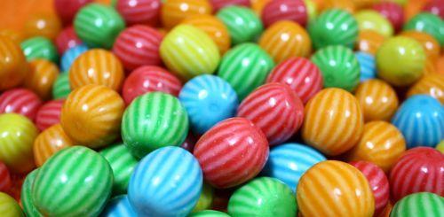 Gum balls.