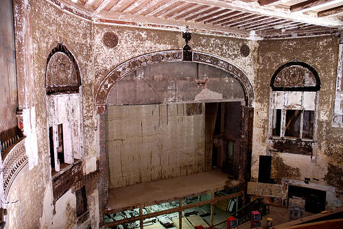 The interior of the Carolina Theatre photographed in 2009.