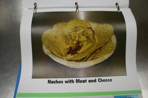 A hot seller - nachos in the CMS recipe book.