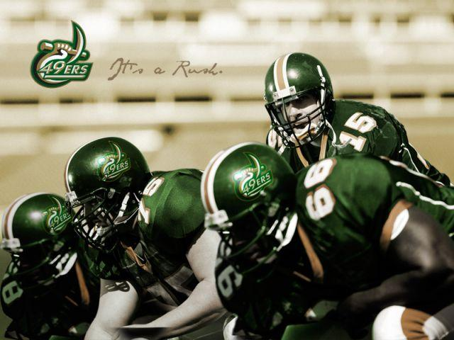 Promotional image for the Charlotte 49ers.