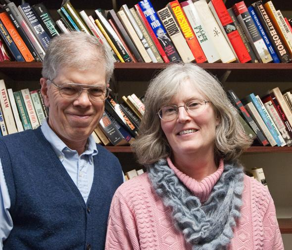 Ralph Levering and Jan Blodgett, Authors of 'One Town, Many Voices - Davidson, North Carolina'