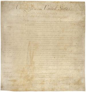 The Bill of Rights. Credit: Archives.gov.  align=left