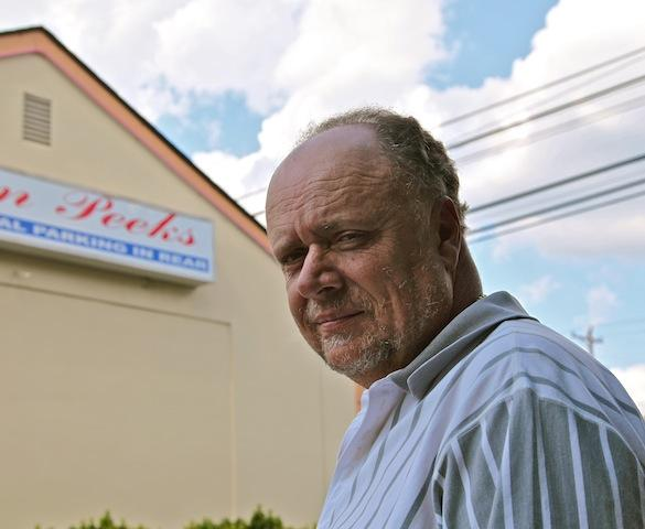 "David ""Slim"" Baucom owns seven strip clubs in the Charlotte area, including Leather and Lace, The Gold Club, and Twin Peeks."