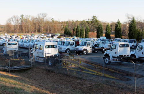 Trucks manufactured at Mt. Holly plant.