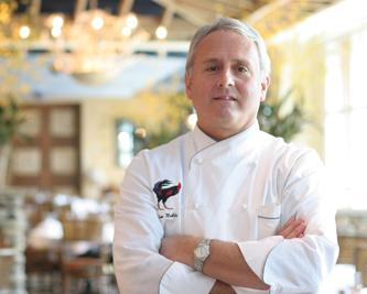 Chef Jim Noble, Owner of Rooster's and The King's Kitchen in Charlotte