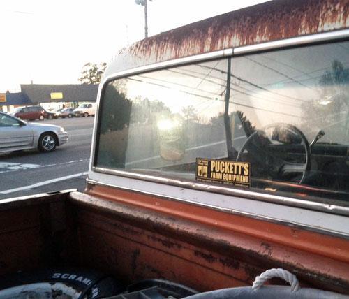 Gary Puckett's 1971 pickup truck.