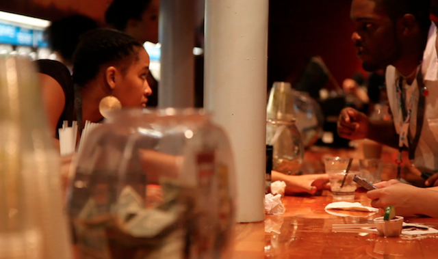Guests found open bars throughout the NC Music Factory.