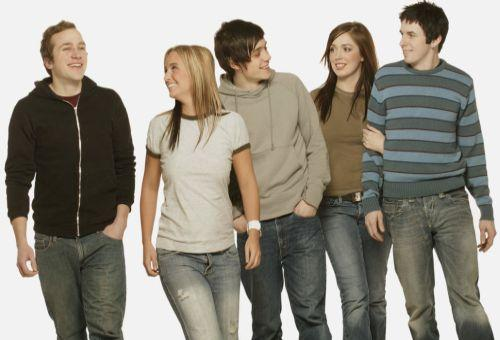 Group of young people. align=left