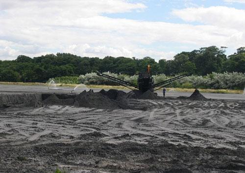 A coal ash lagoon. Photo: Richard Webb