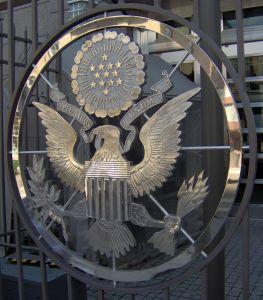Eagle Logo, US Embassy in Ottawa