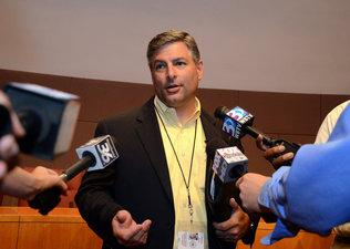 Dr. Peter Gorman. Photo courtesy of the Charlotte Observer align=left