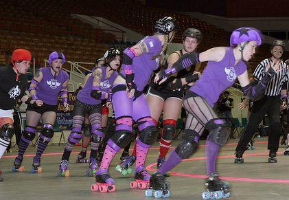 The Charlotte Roller Girls