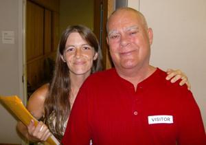 Sterilization victim Charltes Holt and his step-daughter Melissa Hyatt. align=left