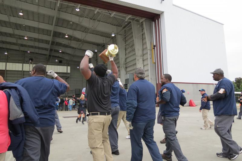 Freight Flyers won the competition for the second year in a row with a winning time of 5.138 seconds.
