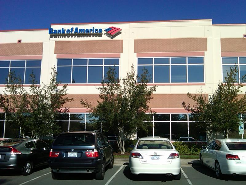 Bank of America's Customer Assistance Center in Northeast Charlotte opened in October 2011.