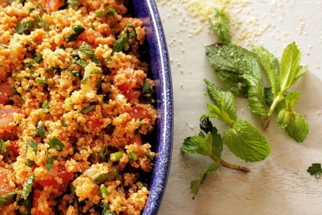 Kisir (bulgur salad)